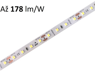 HI-PROFI LED pásek  9,6W/m, 12V, 167-178lm/W, IP20, 80LED/m